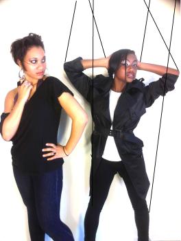 Models: Stacie & Deja .Makeup : Z.