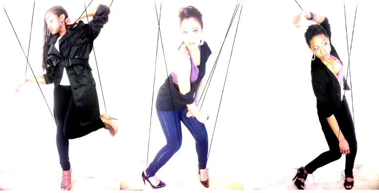 Model: Deja, Stacie & Kiana .Makeup : Z.