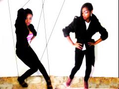 Models: Kiana & Deja .Makeup : Z.