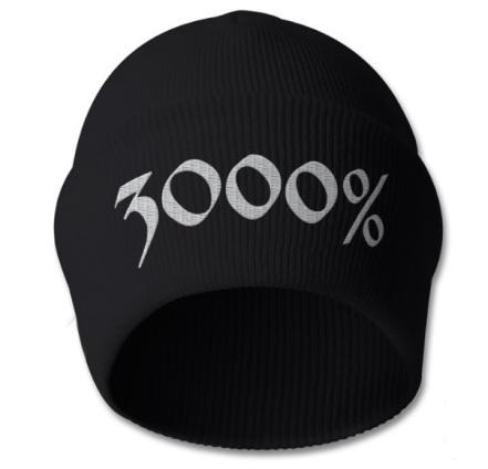 3000%beanie